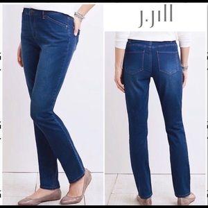 J. Jill Tried & True Fit Slim Leg Jeans